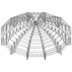 coperture speciali cupola strutture alluminio