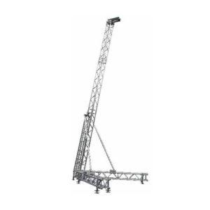torri per sistema audio TWS36 strutture alluminio palchi coperture