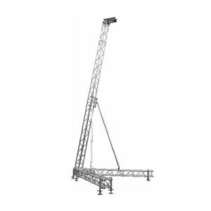 torri per sistema audio TWS30 strutture alluminio palchi coperture