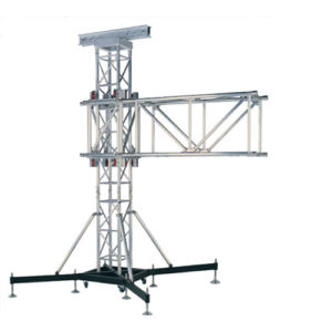 torri di elevazione TW40SS strutture alluminio palchi coperture